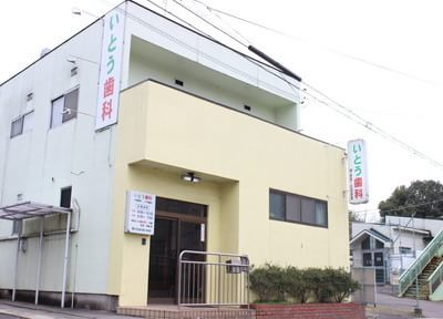 外観です。春日井市の坂下中学校の前にあります。