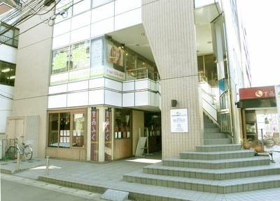 本八幡駅南口より徒歩2分の場所にある、ささがわ歯科クリニックです。