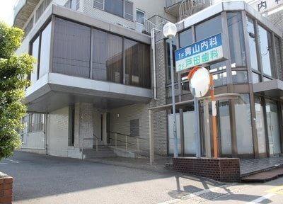 羽島市役所前駅より徒歩1分のところにある、戸田歯科医院です。