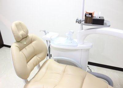 白を基調とした診室です。