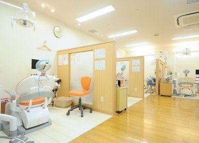 広く開放感のある診療室です。