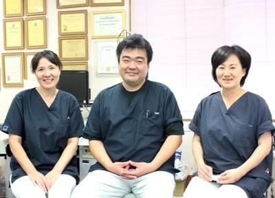 当院のスタッフです。明るく親切な対応を、心がけております。