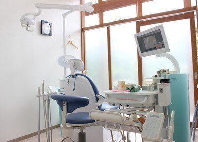 診療室は個室になっておりますので周りを気にせず治療を受けていただけます。