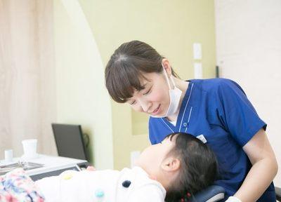 お子さまが歯医者を嫌いにならないよう、お子さまの気持ちに寄り添った治療を行っています