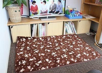 小さいお子様もくつろげるスペースをご用意しております。