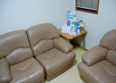 診療チェアは清潔に保っています。