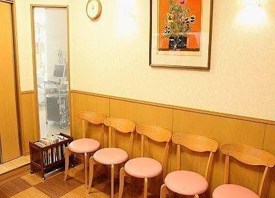 待合室の写真です。