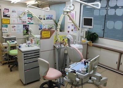 診療室には仕切りがあるので、何でもご相談ください。
