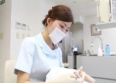担当の歯科医師と歯科衛生士が患者さまの情報をしっかり共有