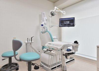 個室制の診療室もあります。
