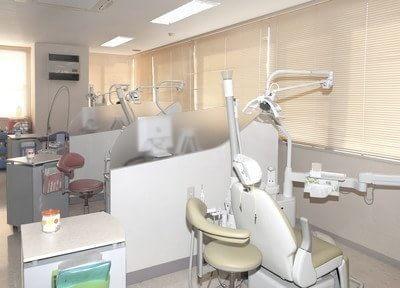 診療室です。窓に面しており開放感のある空間です。