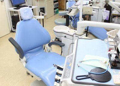こちらの診療チェアで治療します。