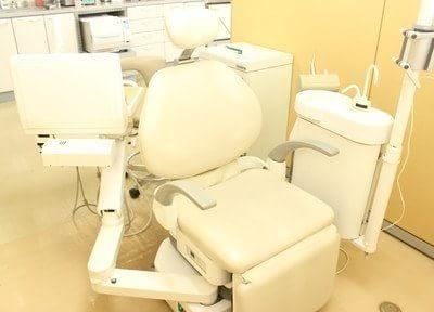 清潔でふかふかな診療チェアです。