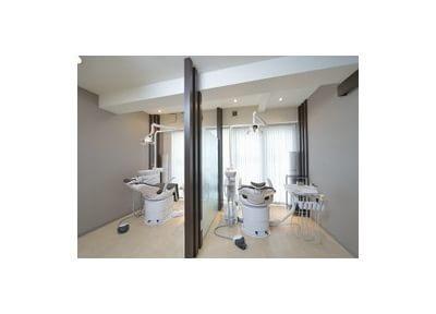 個室診療室と予防室を分離