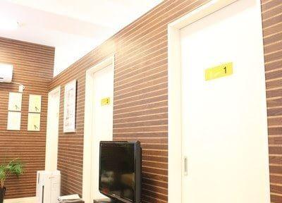 診療室は個別となっておりますので、患者様のプライバシーをお守りいたします。