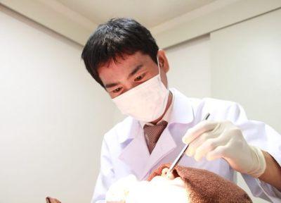 歯をできるだけ削らない治療。再発防止のアドバイスも行っています