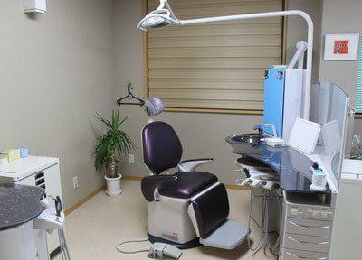 診療室は清潔に保っています。