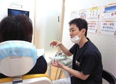 親切かつ丁寧な治療を常に心がけています。