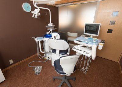 診療スペースは個室空間になっています。リラックスして治療を受けて頂けます。