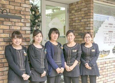 アンブル歯科のスタッフです。笑顔でお迎えします。