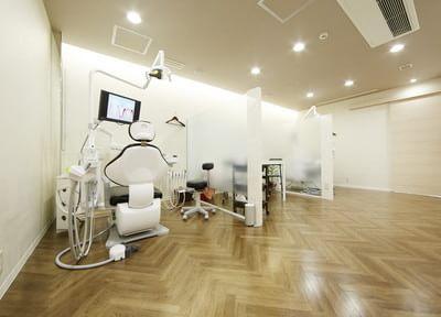 清潔感がありゆったりとした診療室です。