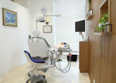 全診療台、個室診療となっています。