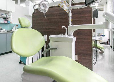 診療チェアです。歯やお口についてのお悩みがある方は、是非一度ご相談ください。