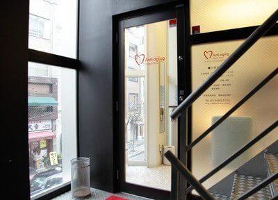 当院の入り口はVANDAビル2階にございます。