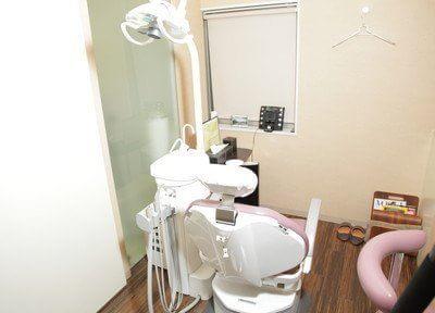 診療室は完全個室制となっておりますのでプライバシーが気になる方でもご安心ください。