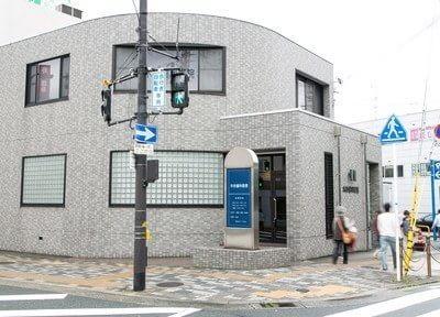 外観です。枚方市駅から徒歩2分と通院しやすくなっております。