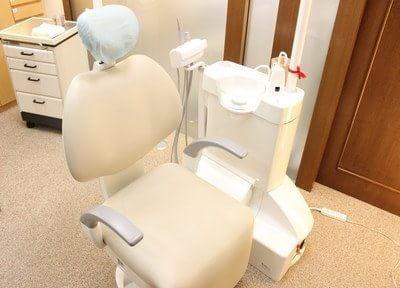 清潔感ある診療チェアです。