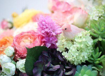 花の飾りです。