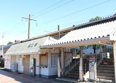 最寄駅の錦江駅