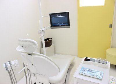 診療室は、個室です。患者様のプライベート空間を確保できます。