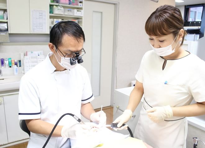 患者さまの健康と美しさのため、再治療のない治療を目指します