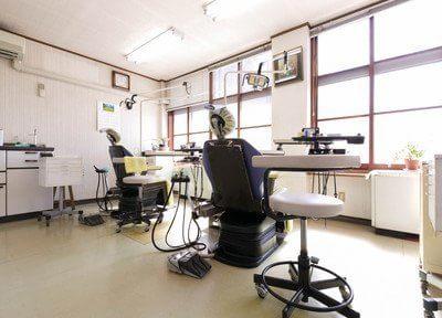 診療室は広く快適な空間になっております。
