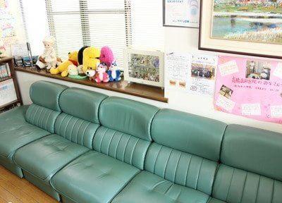 アットホームな待合室です。