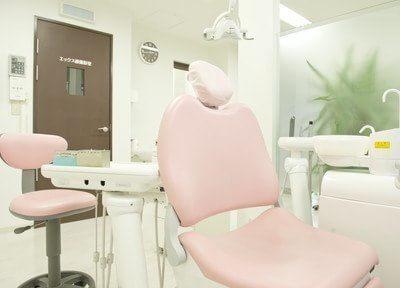 各診療スペースはパーテーションで区切られていますので、周りを気にせずに治療を受けられます。
