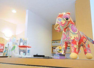 可愛いらしい雰囲気の医院です。
