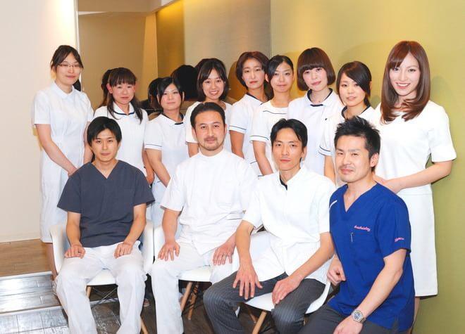 わたしたちスタッフが患者さまのお越しをお待ちしております。