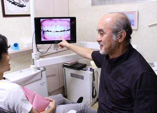 矯正したあとも綺麗な歯列が維持できるよう、お口の筋肉の使い方から考えています