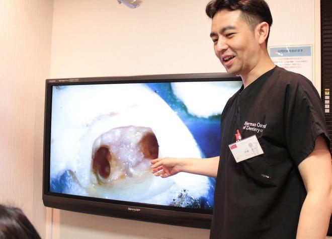 歯科衛生士担当制を導入し、痛みに配慮して治療を行っています