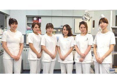川口歯科診療所のスタッフです。