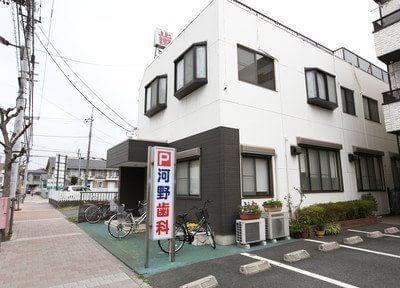 外観です。熊川駅より徒歩8分の場所にあります。