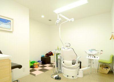みなみもりまち歯科クリニックの診療室