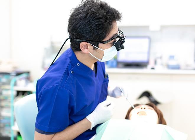 レントゲン撮影と歯茎の検査を行ってから治療方法をご提案します