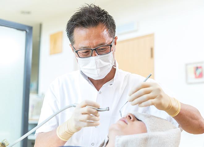 高齢の方もいつまでも元気でいられるように、歯科医師の立場からお手伝いしたいと思います。