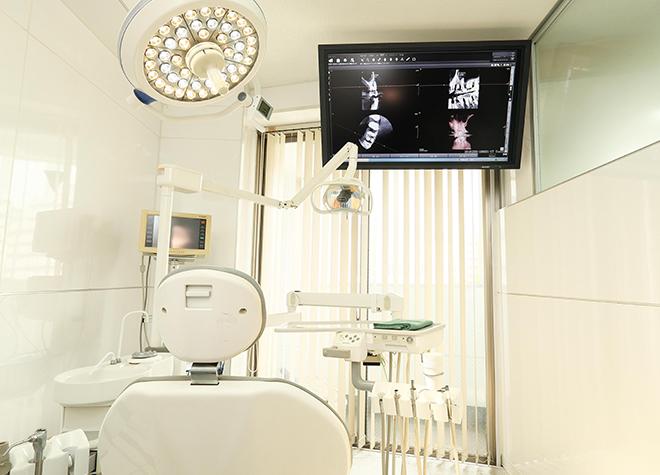 衛生的なオペ室で、スムーズなインプラント治療を行います