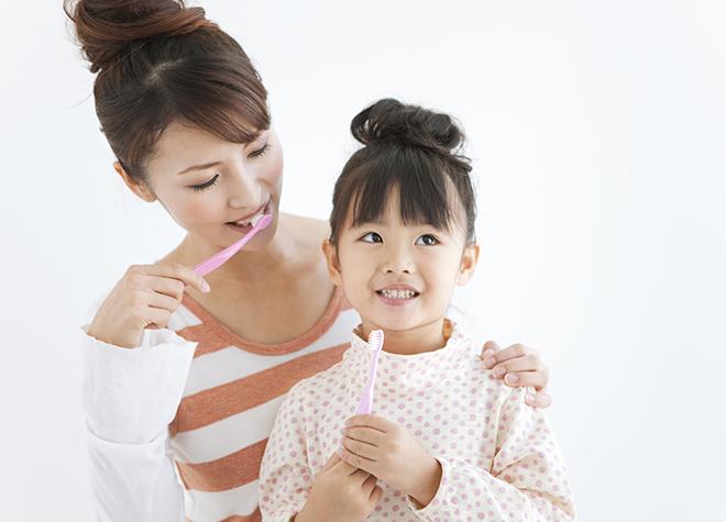 女性歯科医師が対応。お子さまの歯を守るためのアドバイスに力を入れています