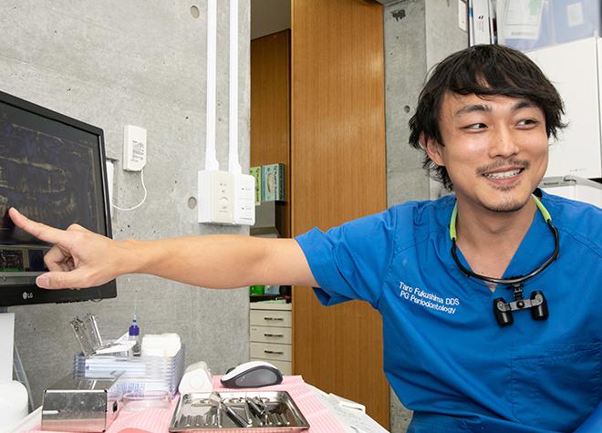 日本歯周病学会認定の歯周病専門医が、一人ひとりのお口の状態に合わせた治療方法をご提案します